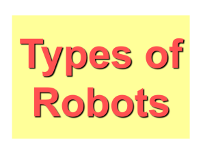 Types of Robots - Web Services Overview
