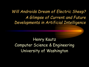 Will Androids Dream of Electric Sheep?