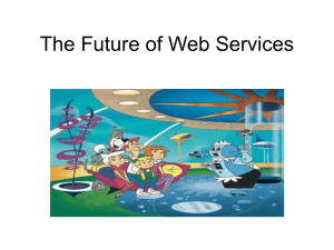 The Future of Web Services - Drexel University