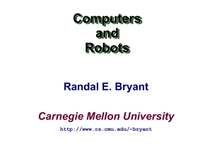 comp-robo - Carnegie Mellon School of Computer Science