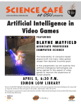 Artificial Intelligence in Video Games