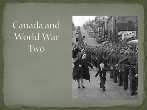 Canada and World War Two