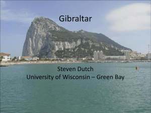 Gibraltar - University of Wisconsin