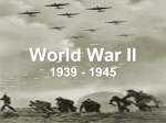 World War II 1939
