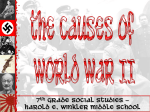 World War II - Cabarrus County Schools