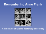 Remembering Anne Frank - Tennessee Holocaust Commission