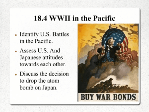 18.4 WWII in the Pacific