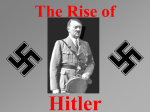 Adolf Hitler: - Two Rivers Public School District