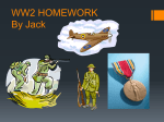 WW2 HOMWORK By Jack - Paulton Junior School