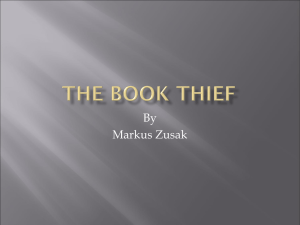 The Book Thief - Mrs. Sullivan