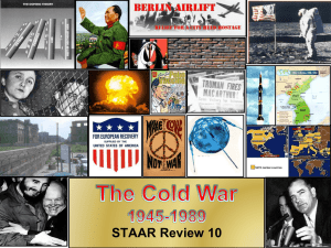 STAAR Review 10 The Cold War
