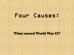 4 Causes of WWII