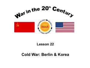 Cold War: Containment & Confrontation