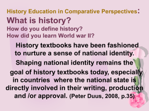 History Education in Comparative Views