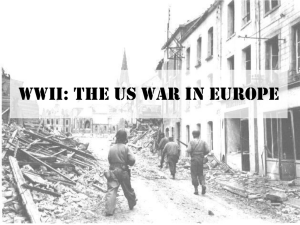 WWII: The US War in Europe