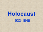 Holocaust - Fort Thomas Independent Schools