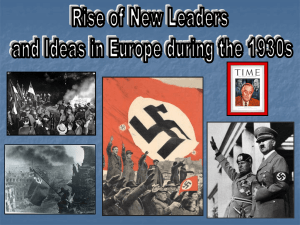 New Ideas and Leaders