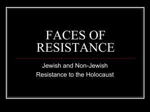 18. The Faces of Resistance