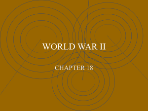 Military History: World War II
