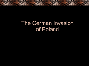 The German Invasion of Poland