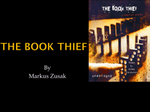 The-Book-Thief-Plot-Powerpoint-Presentation