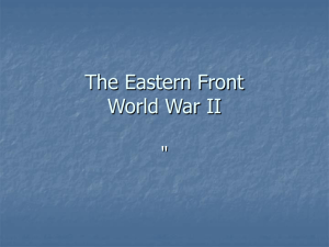Eastern Front World War II