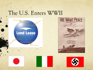 US Entry into World War II powerpoint link.