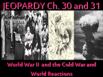 Ch 31 The Cold War Western Society and Eastern Europe
