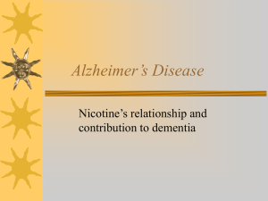 Alzheimer's Disease - Academic Program Pages at Evergreen