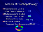 Models of Psychopathology - California State University
