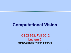 Lecture 2 - Computer Science