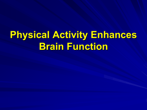 Exercise Enhances Brain Health