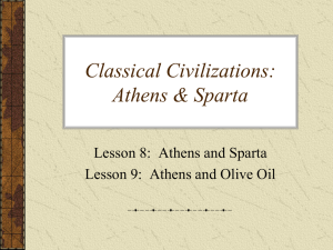 Classical Civilizations - Texas Council on Economic Education