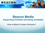 6. What is Biblical Christian worldview?