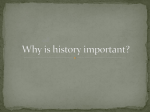 World History, Where and Why?