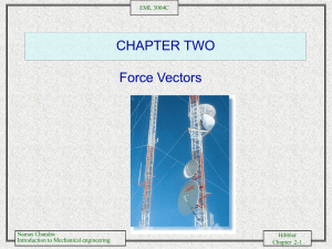 Force Vectors