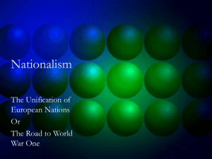 Nationalism PPT