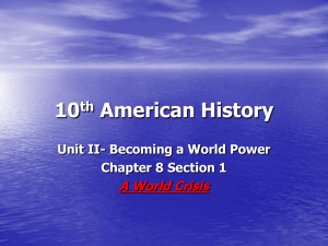 10th American History - Shell Rock Elementary School