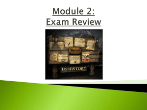 Module 2: Exam Remediation