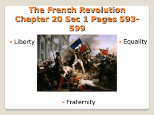 Enlightenment and French Revolution