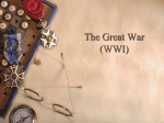 The Great War - Galena Park ISD Moodle