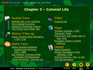 Colonial Life - TheMattHatters