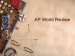 AP World Review - Fulton County Schools
