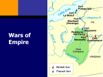 French and Indian War - Madison Public Schools