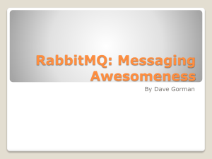 RabbitMQ - FMDevelopers