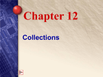 Chapter 12 Collections