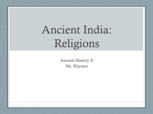 Ancient India: Hinduism