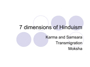 7 dimensions of Hinduism