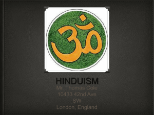 hinduism - Westside School