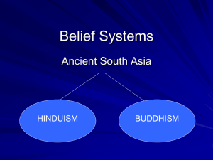 Belief Systems of South Asia Notes